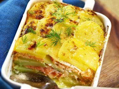Aardappelgratin met zalm (Libelle Lekker!)
