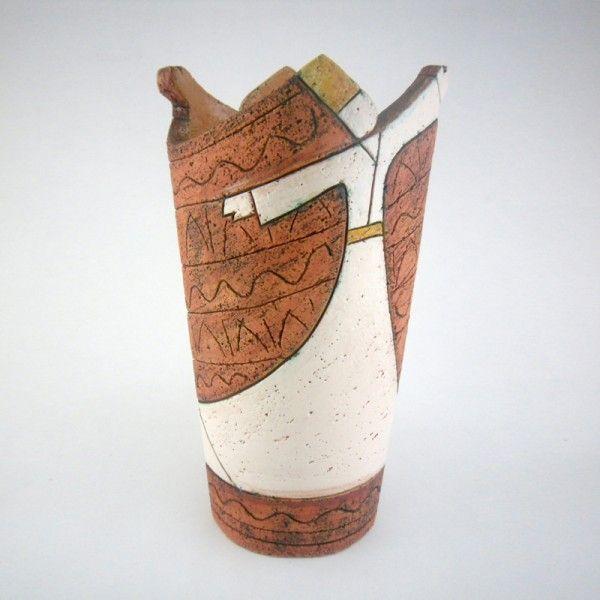 handmade ceramic whirling dervish vase design