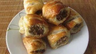 hot to make sausage rolls - YouTube