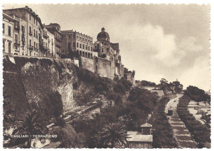 CAGLIARI - Terrapieno (anni '40-'50)