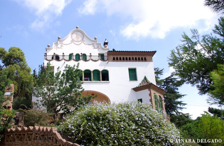 Casa Martí Trias - Parque Güell - Barcelona 13-08-2015