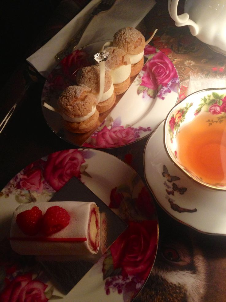 inspirational afternoon tea at The Parlour in London