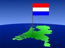 tekening nederlandse vlag