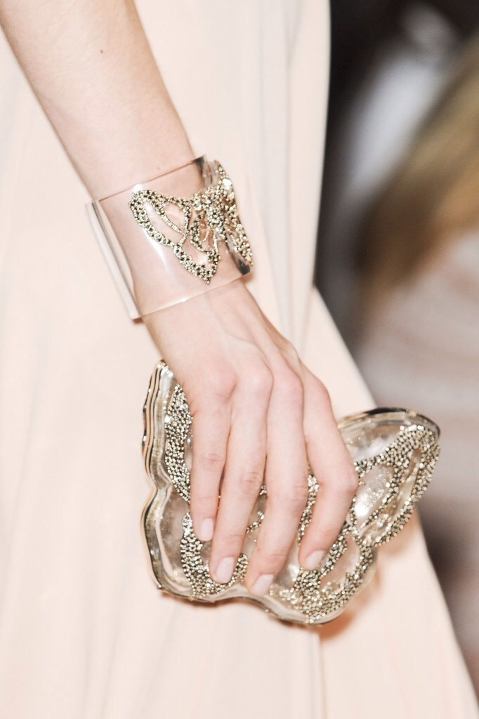 Butterfly bracelet & purse