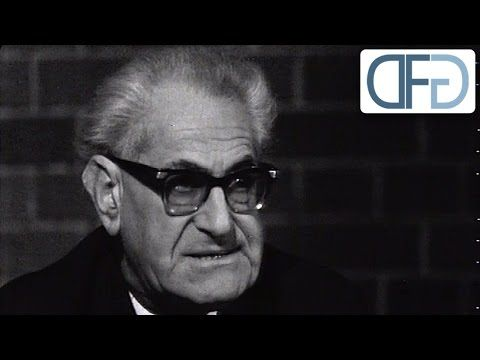 Fritz Bauer im Frankfurter Kellerklub 1964 - YouTube