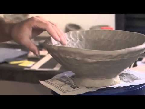 Good video on how to build coil form. Ceramic Arts Daily – Clay Projects and Fundamentals
