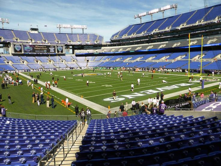 M&T Bank Stadium in Baltimore, MD