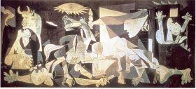 Sylvie nous envoie des documents très complets en français sur  Guernica et son contexte ainsi qu'une fiche de travail.            Merci ...