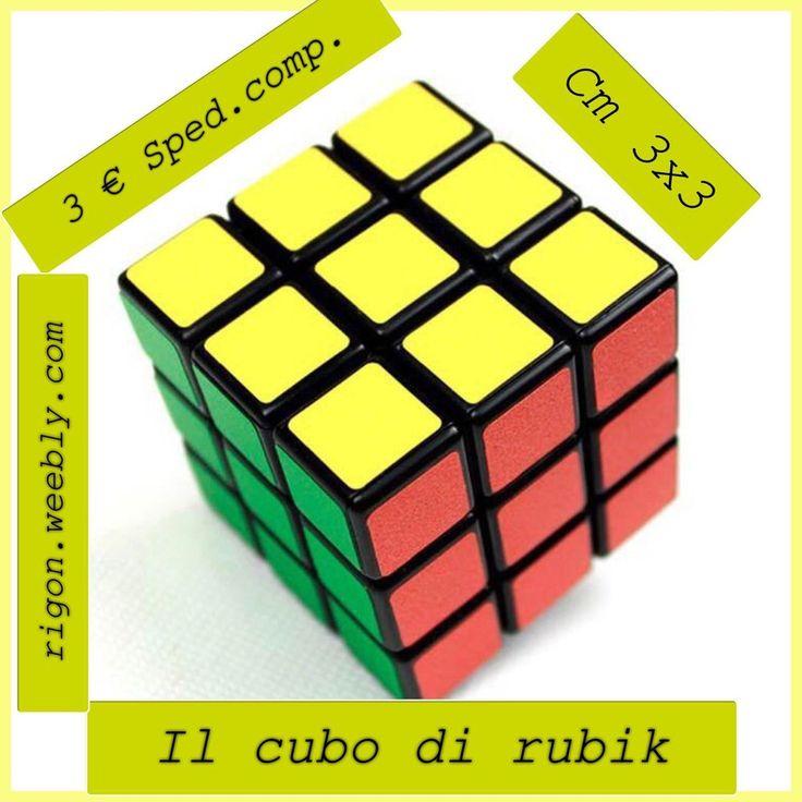 PORTACHIAVI IL CUBO DI RUBIK - Cm 3 X 3 - 3 € SPEDIZIONE COMPRESA