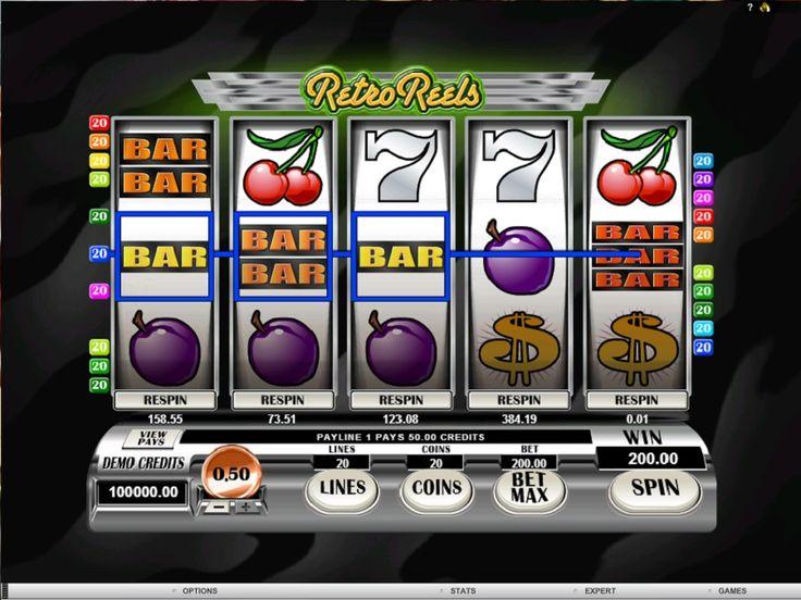 Gokautomaat Retro Reels - De automaat spel komt van het bekende bedrijf Microgaming is een vijf cylinder spel met twintig winnende lijnen, waarop je jou winnende kombinaties kan proberen te krijgen. #Retro #Reels #RetroReels #jackpot #speelautomaten