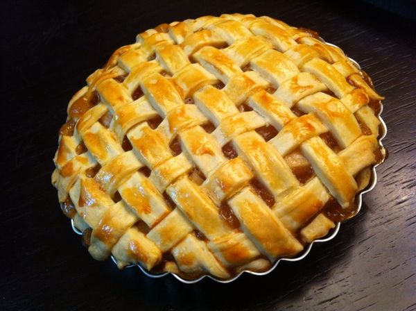 This is apple pie.