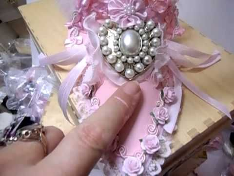 Fiona Jennings as jennings644 - Marie Antoinette Shabby Chic Slipper - time 4:35; Aug 24, 2013