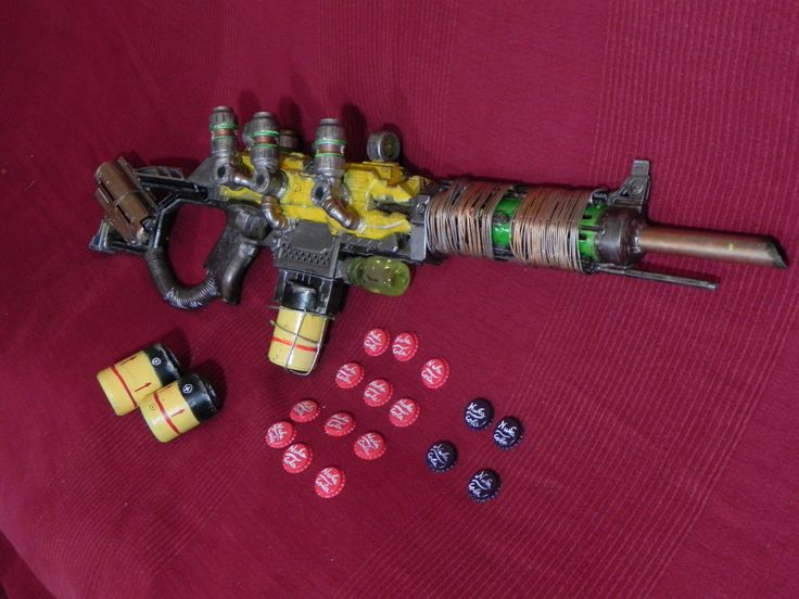 Nerf cosplay fallout plasma rifle by SCElfWorkshop on Etsy