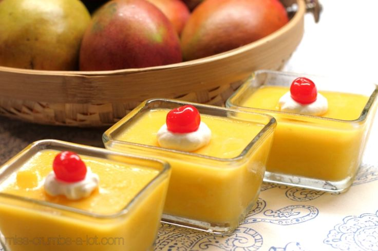 Mango Pudding is a rich and silky desert that is bursting with luscious mango flavor. The simplicity of it all makes it great for parties and company.
