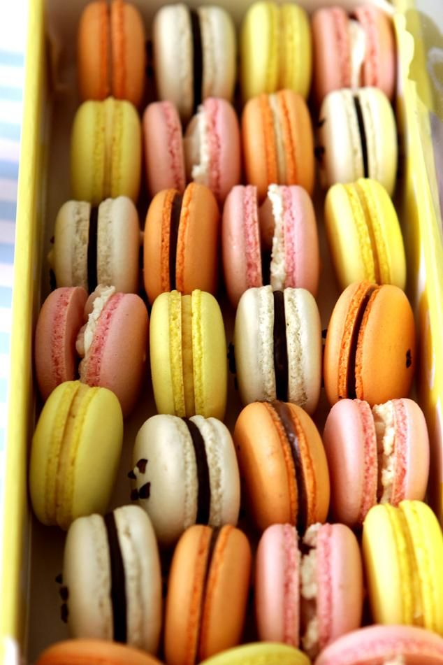 Gourmet Baking: Assorted and Colorful Macarons for Christmas | Sweet ...
