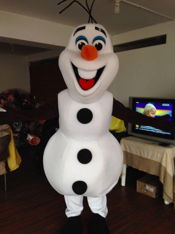 Olaf Snowman Frozen Mascot Costume Character 121 | eBay