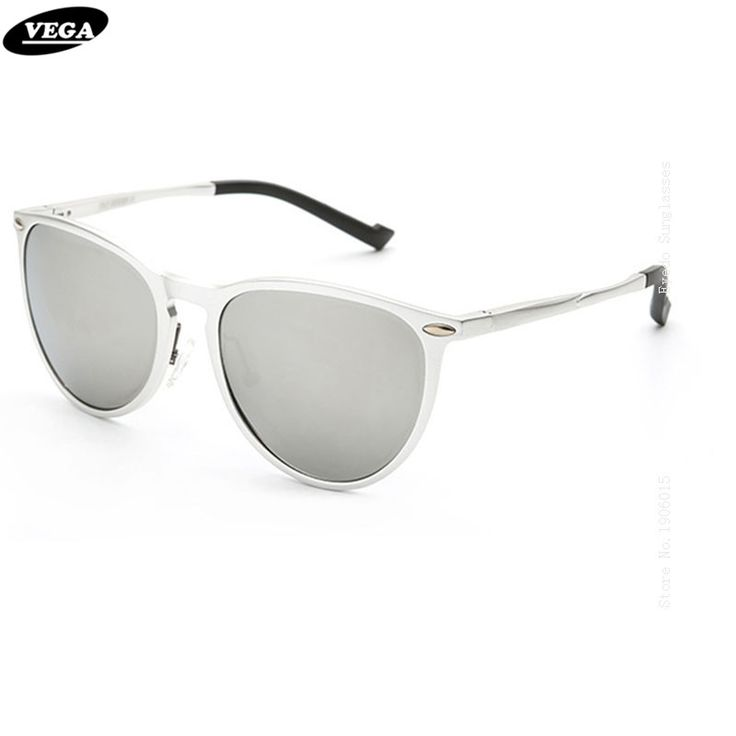VEGA Aluminum Magnesium Alloy Frame HD Vision Lenses Best Wrap Around Sunglasses Polarized Latest Novelty Sunglass Style 8563
