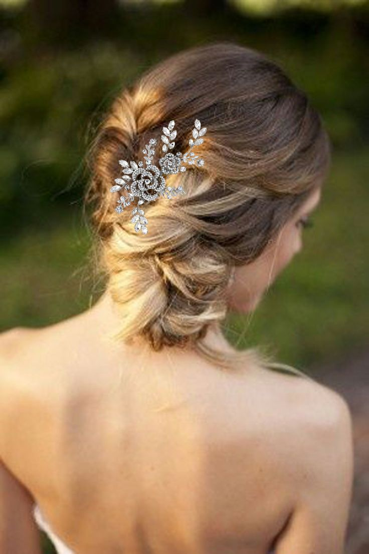 Ha hair accessories vancouver bc - Updo Bridal Hair Idea