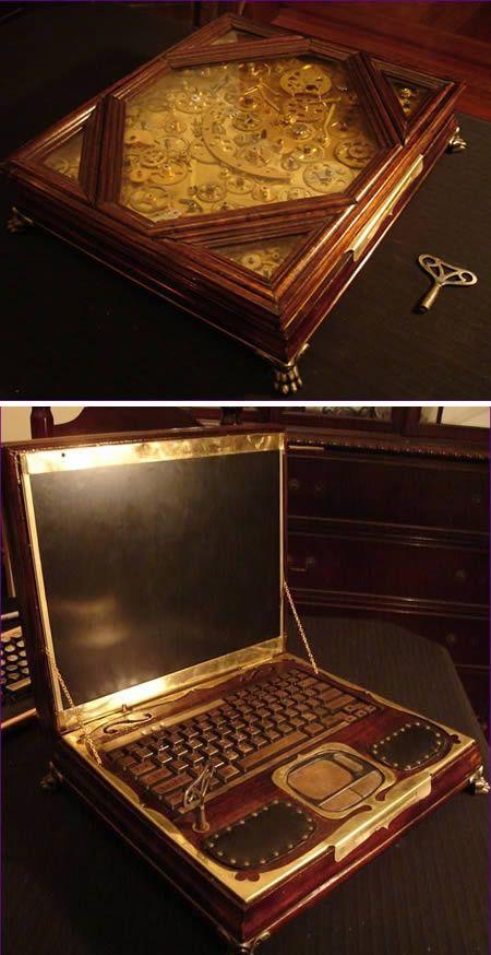 Steampunk #Laptop