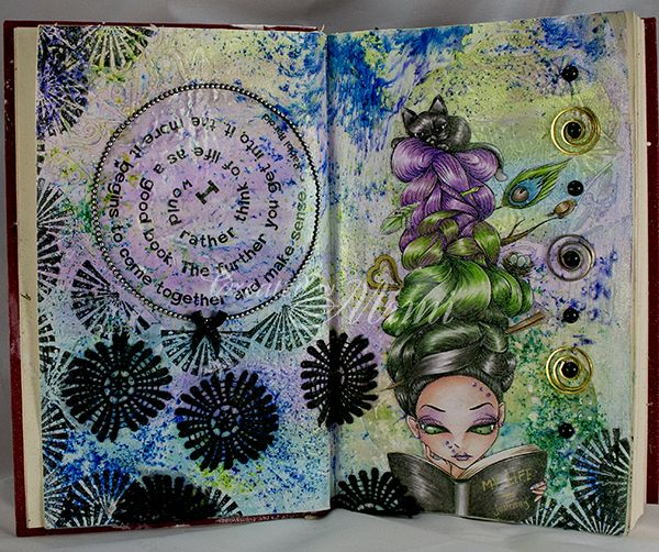 using Bookaholic by Lucy Loo of TheEastWind