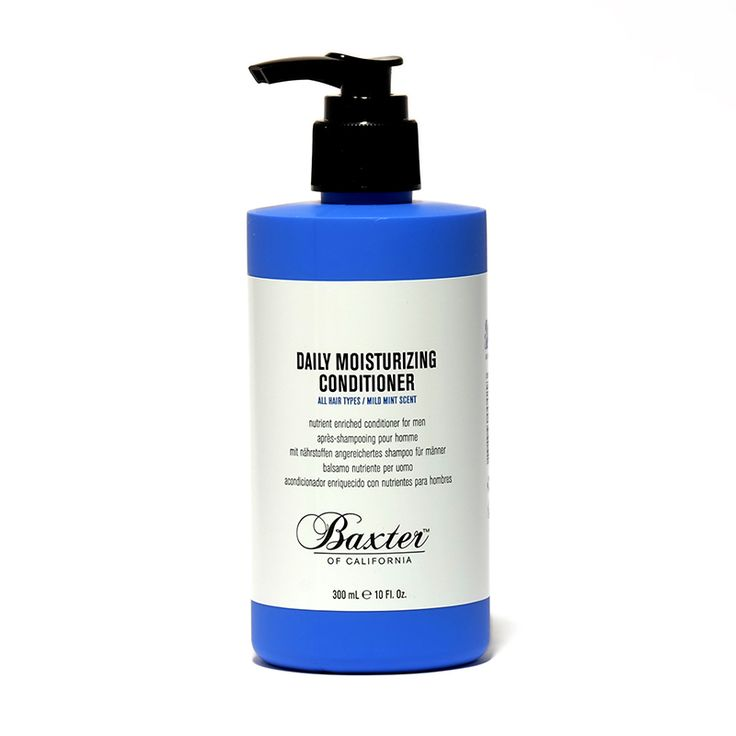 Nutrient-enriched conditioner for men with a mild mint scent.  Protein-enriched formula restores moisture as it helps rebuild the hair. Botanicals and vitamins improve hair manageability, combat dryness and add natural shine – without weighing down your hair.