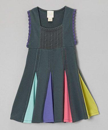 Urban Chic Isosceles Dress - Toddler & Girls