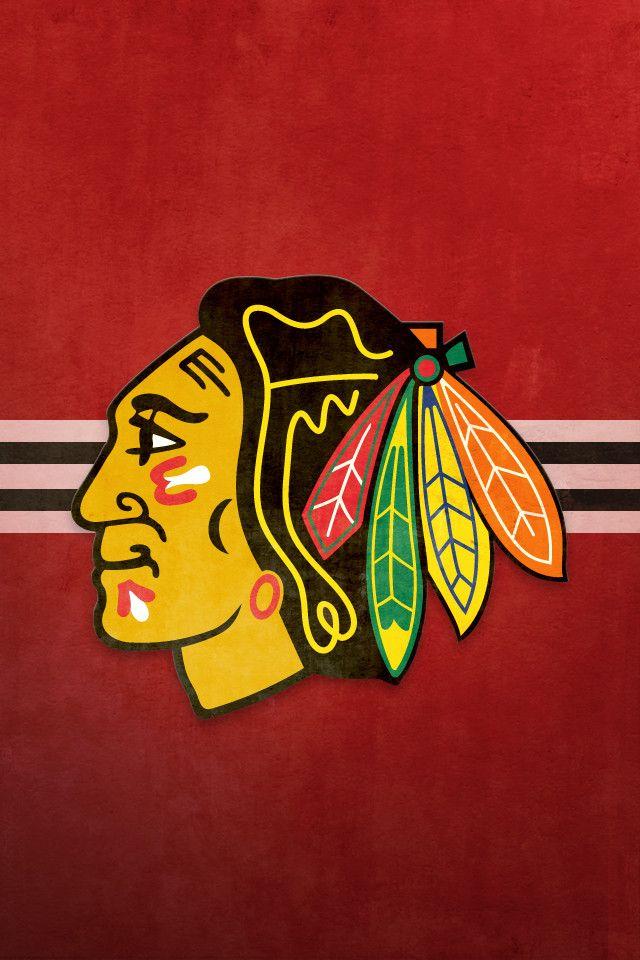 Chicago Blackhawks iPhone Background