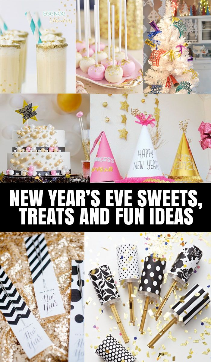 Fun New Years Eve Ideas To Add Sparkle And Sweetness to your night!