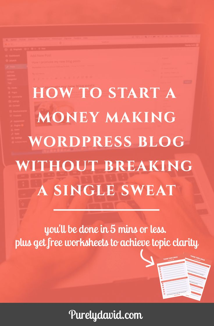 Never feel frightened to start a blog or website again. This is because I have detailed very simple steps to start a WordPress blog without breaking a sweat