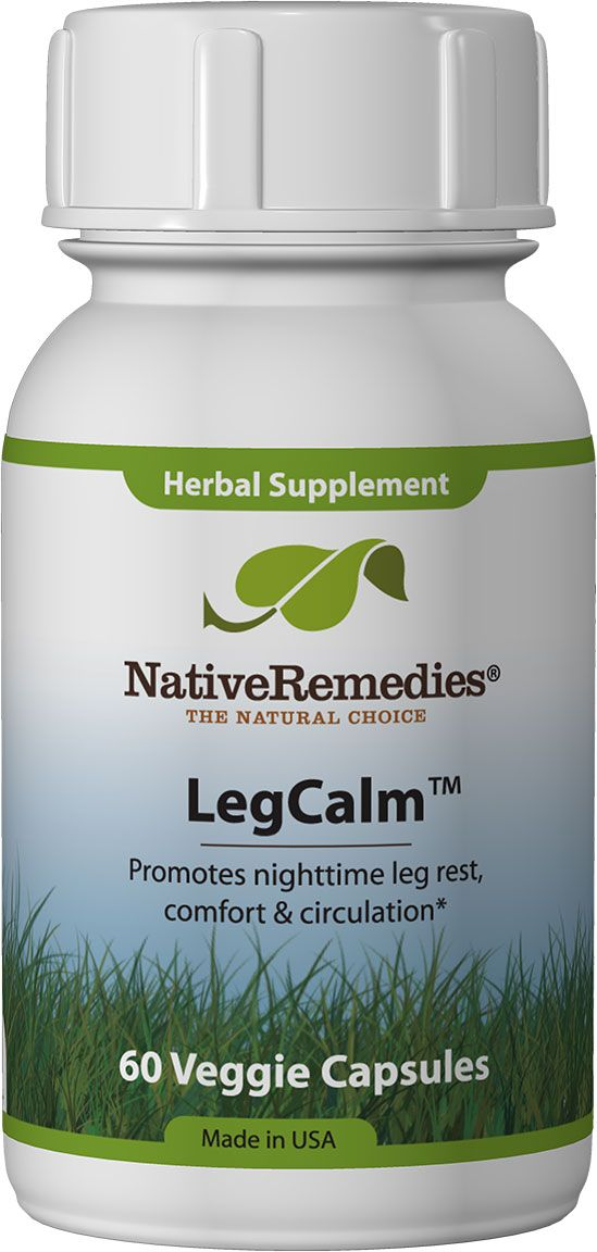 LegCalm™ - Herbal remedy supports healthy circulation for leg and limb comfort for still, rested legs at night