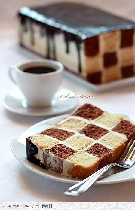 Ciasto szachownica Arabeska | na Stylowi.pl