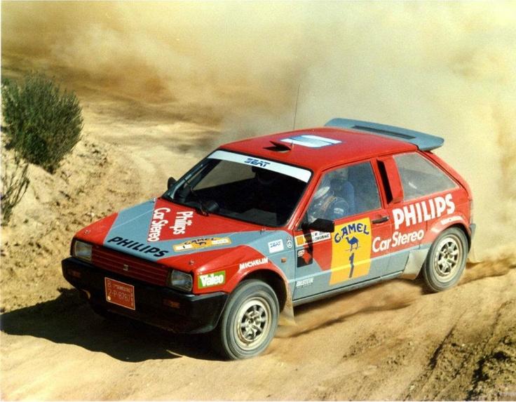 Josep María Serviá-Josep Casanovas. SEAT Ibiza Twin-engine. Spanish Rally Champinship 2001
