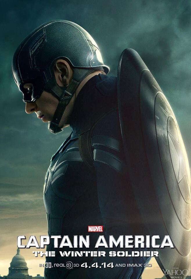 """""""Capitão América 2: O Soldado Invernal"""" ganha novos cartazes http://cinemabh.com/imagens/capitao-america-2-o-soldado-invernal-ganha-novos-cartazes"""