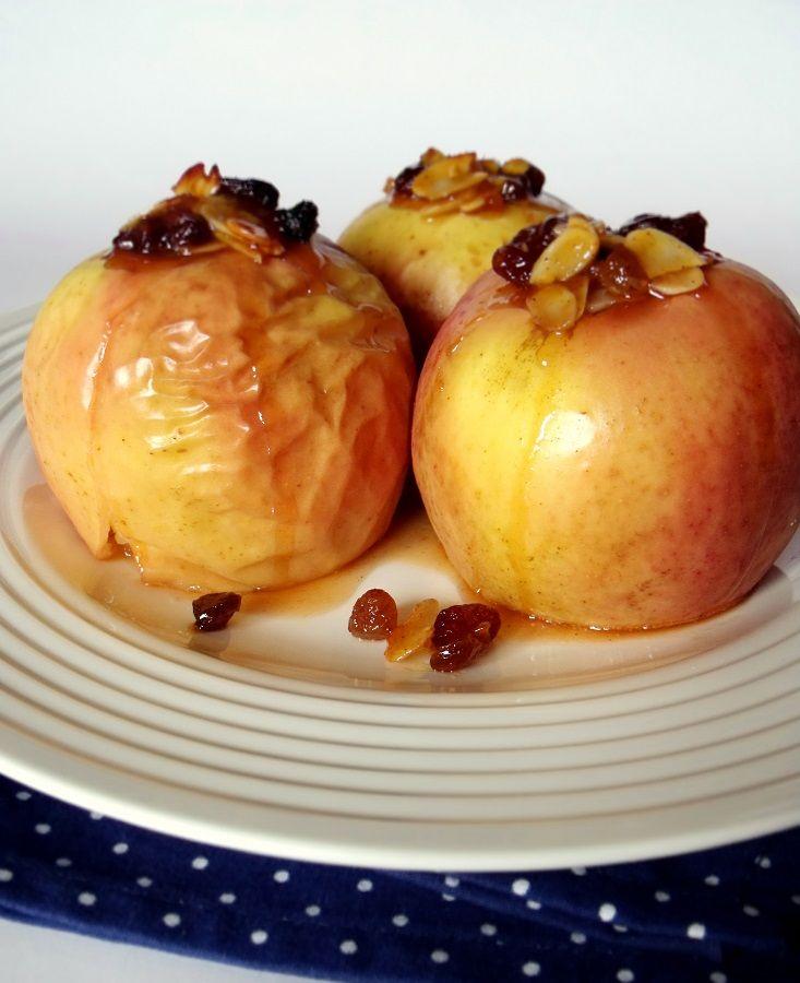Citromhab: Sült alma