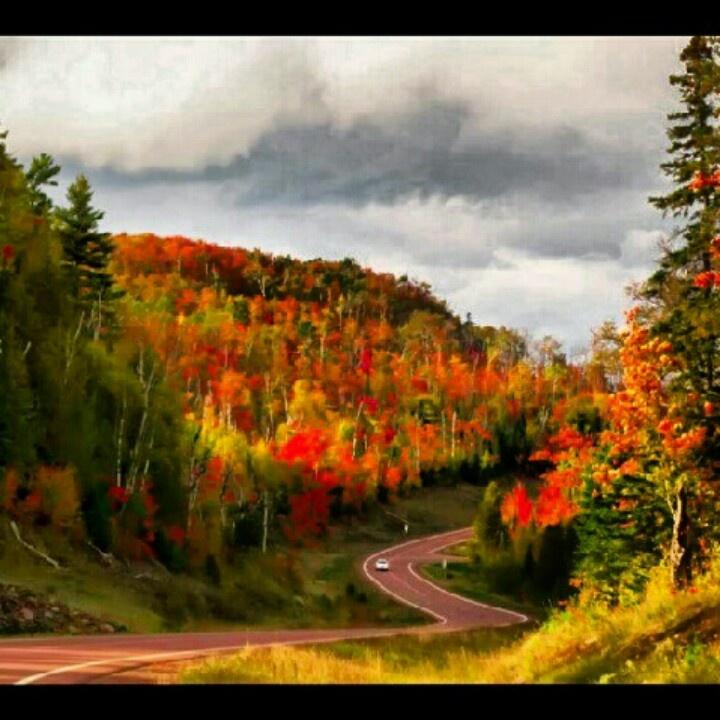 Duluth, Minnesota. Beautiful fall.
