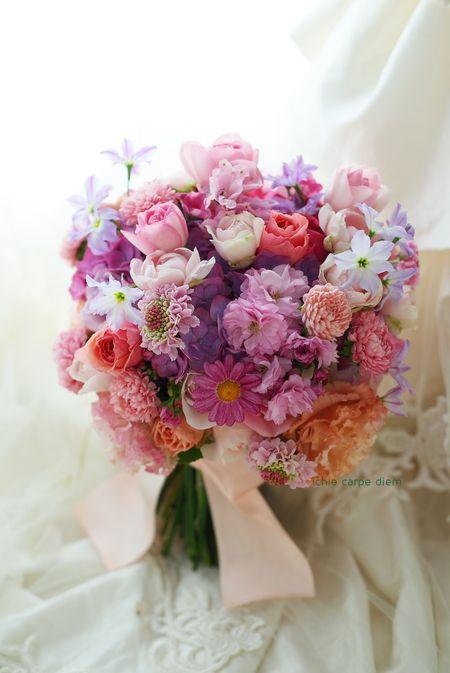 一会 ウエディングの花 の画像