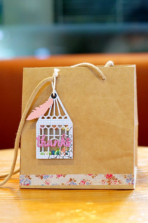 STUDIO H ART: Shaker Gift Tag Inspiration