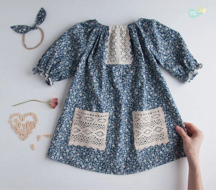 Купить или заказать Платье в деревенском стиле из хлопка с кружевом в интернет-магазине на Ярмарке Мастеров. Первые признаки 'деревенского стиля' в одежде - приятные натуральные ткани (ситец, хлопок, лен), свободные силуэты (объемные блузки, платья-колокольчики, расклешенные юбки) и отделка домашним кружевом. Такая одежда идеальна для ребенка в жаркий день, к тому же, она еще и выглядит очень романтично, 'по-французски'.…