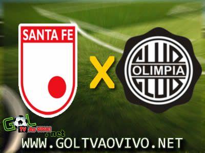 Assistir Santa Fe x Olimpia ao vivo Copa Libertadores 2013