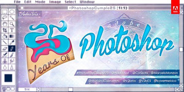 #PhotoshopCumple25