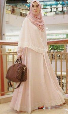 Panduan Tepat Long Dress Hijab untuk Yang Bertubuh Gemuk