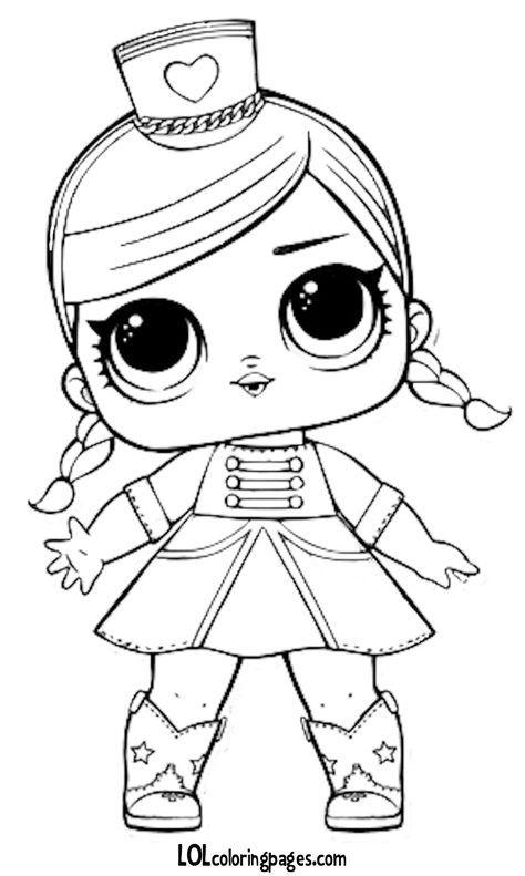 Boneca LOL para colorir | Desenhos para imprimir | Pinterest | Lol ...