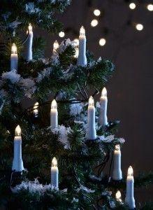 Piękne klasyczne lampki choinkowe LED marki Markslojd.
