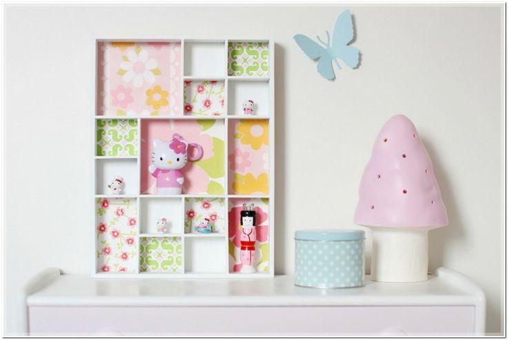 estupendo mueble estantes decorativos niña