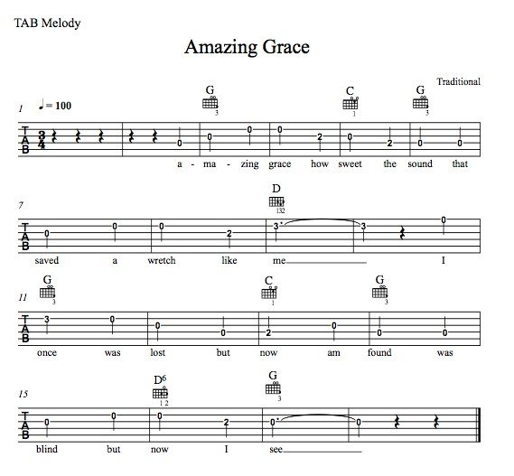 Amazing Grace Free Piano Sheet Music With Lyrics: Best 25+ Amazing Grace Guitar Chords Ideas On Pinterest