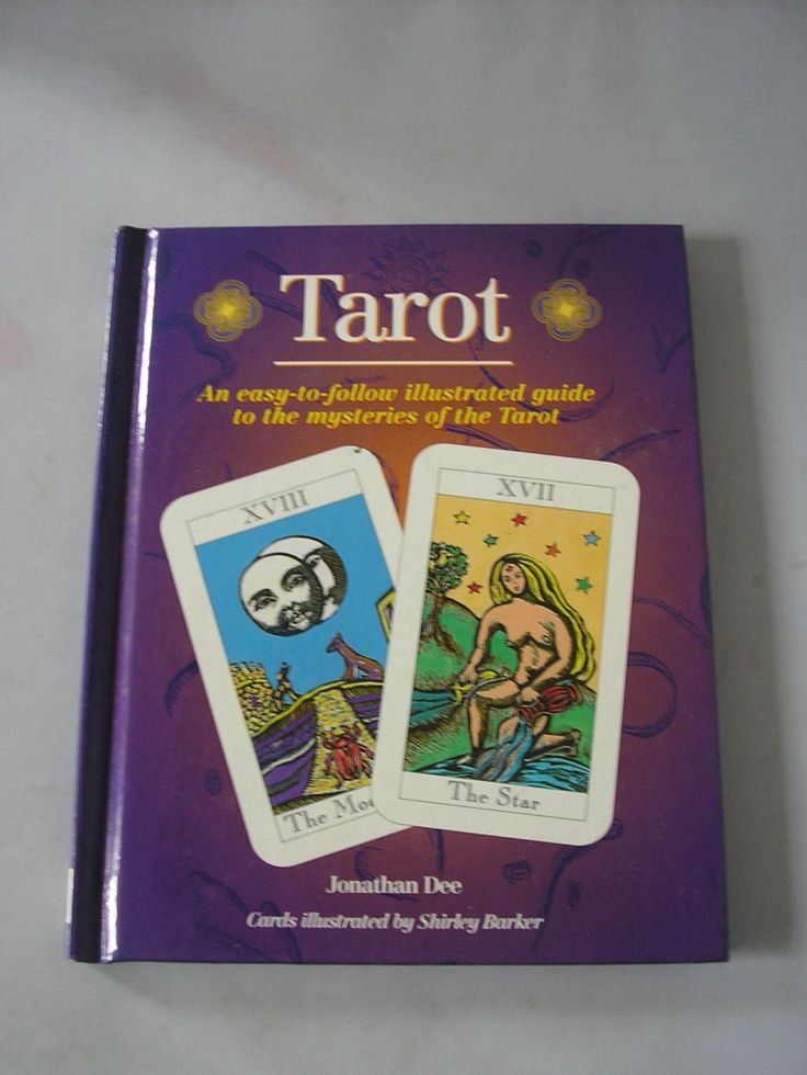 Tarot an illustrated guide jonathan Dee hardback tarot cards fortune telling card reading card prediction occultist picture book by IrishBarnVintage on Etsy