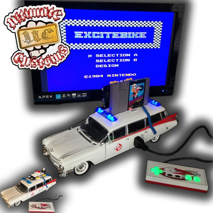 Ghostbusters ECTO 1 Die-Cast Car CUSTOM Nintendo NES Console System Game in Video Game Consoles | eBay