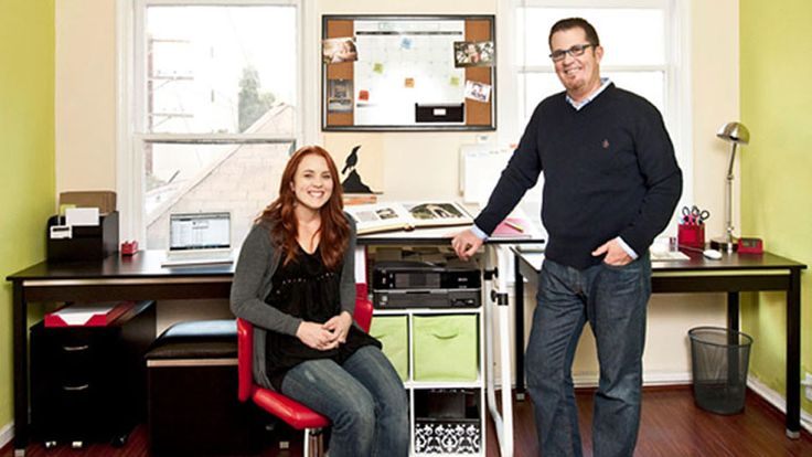 Organizing guru Peter Walsh helps one reader whip her workspace into shape.