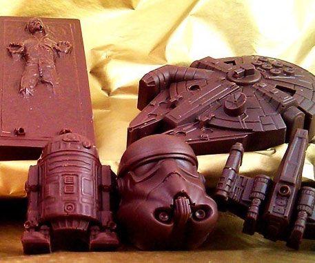 Star Wars Chocolates - https://interwebs.store/star-wars-chocolates/ #StarWars