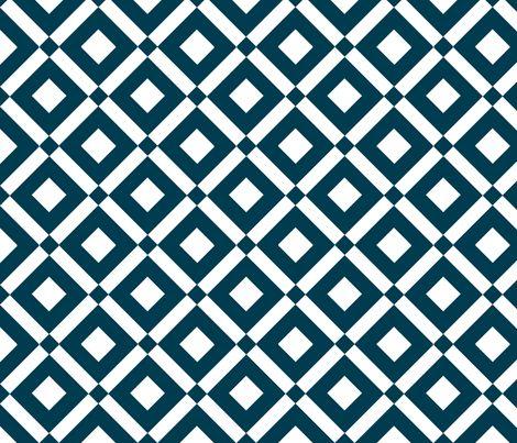 diamond (navy) fabric by amybethunephotography on Spoonflower - custom fabric